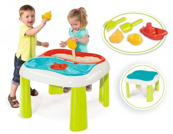 Stolik do zabawy wodą i piaskiem