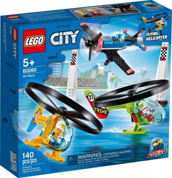 Klocki City 60260 Powietrzny wyścig