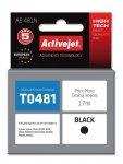 Tusz Activejet AE-481N (zamiennik Epson T0481; Supreme; 17 ml; czarny)