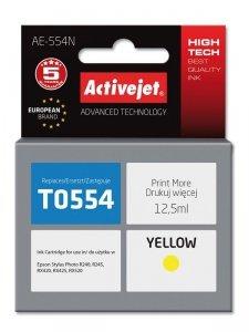 Tusz Activejet AE-554N (zamiennik Epson T0554; Supreme; 12.5 ml; żółty)