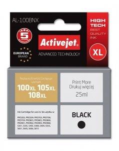 Tusz Activejet AL-100BNX (zamiennik Lexmark 100XL/105XL/108XL 14N1068E; Supreme; 25 ml; czarny)