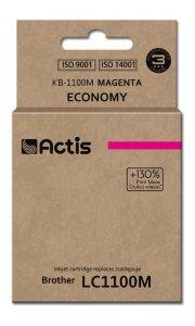 Tusz ACTIS KB-1100M (zamiennik Brother LC1100M/980M; Standard; 19 ml; czerwony)