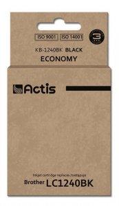 Tusz ACTIS KB-1240Bk (zamiennik Brother LC1240BK/LC1220BK; Standard; 19 ml; czarny)