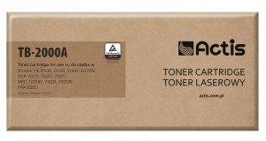 Toner ACTIS TB-2000A (zamiennik Brother TN-2000/TN-2005; Standard; 2500 stron; czarny)