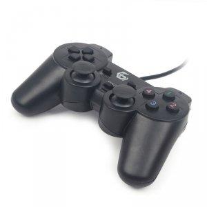 Gembird JPD-UDV-01 kontroler gier Gamepad PC Analogowa/Cyfrowa USB 2.0 Czarny