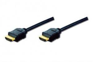 Kabel Assmann AK-330107-030-S (HDMI M - HDMI M; 3m; kolor czarny)