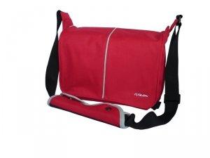 Addison ADD1301 torba na notebooka 25,9 cm (10.2) Obudowa na messenger Czerwony