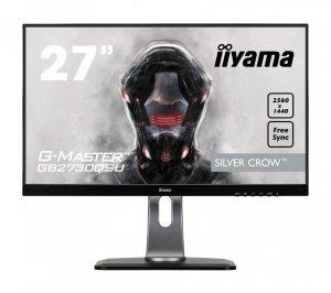 Monitor IIYAMA G-Master Silver Crow GB2730QSU-B1 (27; TN; 2560x1440; DisplayPort, HDMI; kolor czarny)