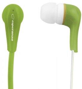 Słuchawki Esperanza Lollopop EH146G (kolor zielony)