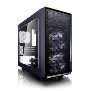 Obudowa FRACTAL DESIGN Focus G Mini FD-CA-FOCUS-MINI-BK-W (ITX, Micro ATX; kolor czarny)