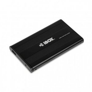 Obudowa IBOX HD-01 ZEW. 2,5 USB 2.0 IEU2F01 (2.5; USB 2.0; Aluminium; kolor czarny)