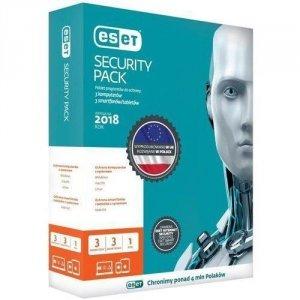 ESET Security Pack (1 mobilne, 1 robocze; 24 miesiące; BOX; Komercyjna)