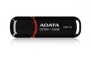 Pendrive ADATA UV150 AUV150-32G-RBK (32GB; USB 3.0; kolor czarny)