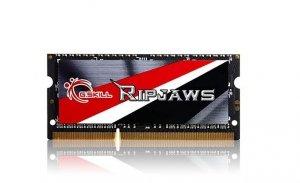 Pamięć G.SKILL Ripjaws F3-1600C11S-4GRSL (DDR3 SO-DIMM; 1 x 4 GB; 1600 MHz; CL11)