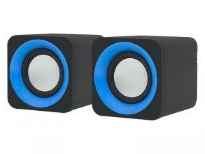 Zestaw głośników komputerowe BLOW MS-23 66-374# (2.0; kolor czarny)