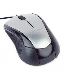 Mysz GEMBIRD MUS-3B-02-BG (optyczna; 1000 DPI; kolor czarny)