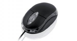 Mysz IBOX i2601 OPTYCZNA PRZEWODOWA, USB BLACK IMOF2601u (optyczna; 800 DPI; kolor czarny)