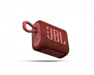 Głosnik JBL GO 3 (czerwony, bezprzewodowy)