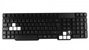 Mars Gaming MKHA0 klawiatura USB Czarny, Biały