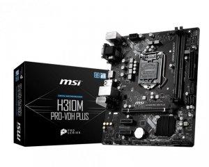 Płyta główna MSI H310M PRO-VDH PLUS (LGA 1151; 2x DDR4 DIMM; Micro ATX)
