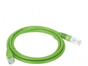 Alantec KKU5ZIE0.5 kabel sieciowy 0,5 m Cat5e U/UTP (UTP) Zielony