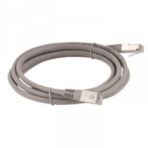 Patchcord FTP A-LAN KKF5SZA1.0 (RJ45 - RJ45 ; 1m; FTP; kat. 5e; kolor szary)