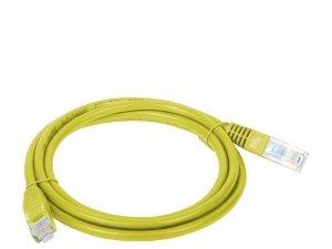 Patchcord UTP A-LAN KKU5ZOL3 (RJ45 - RJ45 ; 3m; UTP; kat. 5e; kolor żółty)
