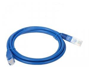 Patchcord UTP A-LAN KKU5NIE3 (RJ45 - RJ45 ; 3m; UTP; kat. 5e; kolor niebieski)