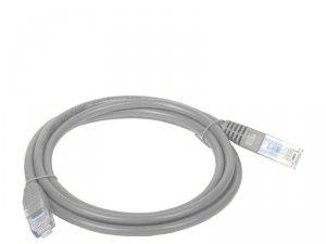 Patchcord UTP A-LAN KKU5SZA1 (RJ45 - RJ45 ; 1m; UTP; kat. 5e; kolor szary)