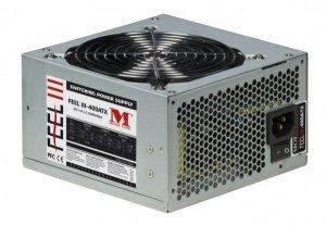 Modecom FEEL III - 400 ATX moduł zasilaczy 400 W Srebrny