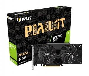 Karta graficzna PALIT GTX 1660 DUAL 6GB GDDR5
