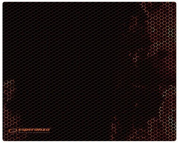 Esperanza EGP102R podkładka pod mysz Podkładka dla graczy Czarny