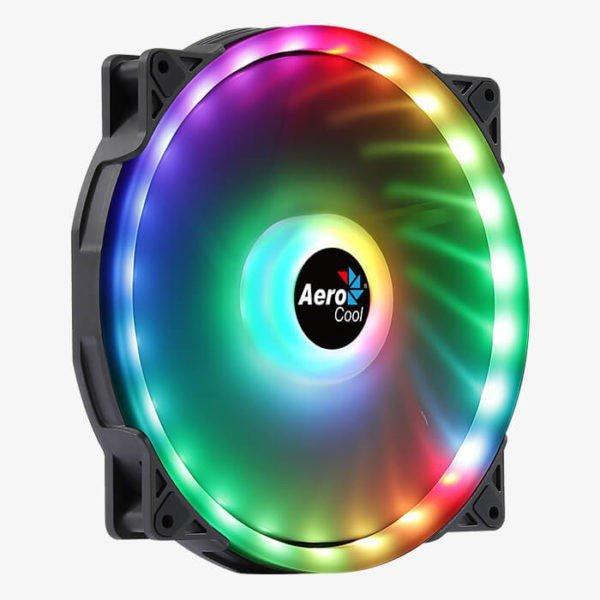 WENTYLATOR AEROCOOL PGS DUO 20 ARGB 6pin 200mm