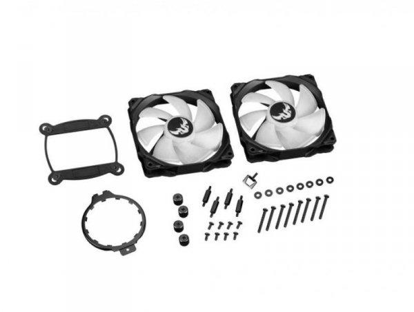 ASUS TUF GAMING LC 240 RGB wentylator do PC Procesor Chlodnica/wentylator Czarny