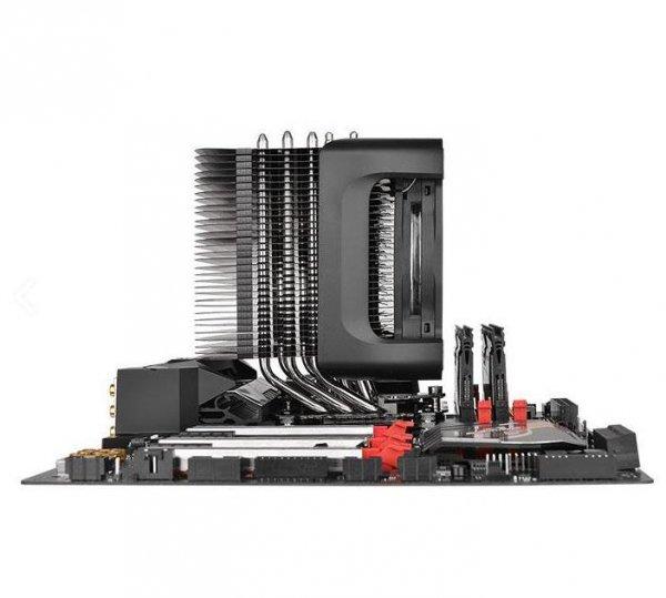 Thermaltake Riing Silent 12 Pro Procesor Chlodnica/wentylator 12 cm Czarny, Czerwony
