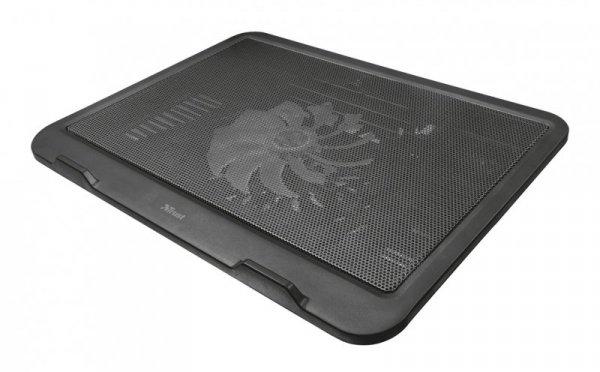 Podstawka chłodząca pod laptop Trust Ziva 21962 (16.x cala; 1 wentylator; HUB)