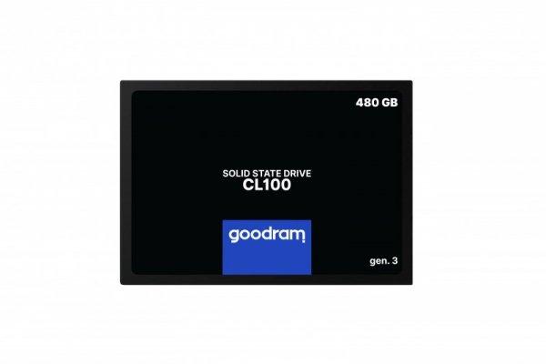 SSD GOODRAM CL100 Gen. 3 480GB SATA III 2,5 RETAIL