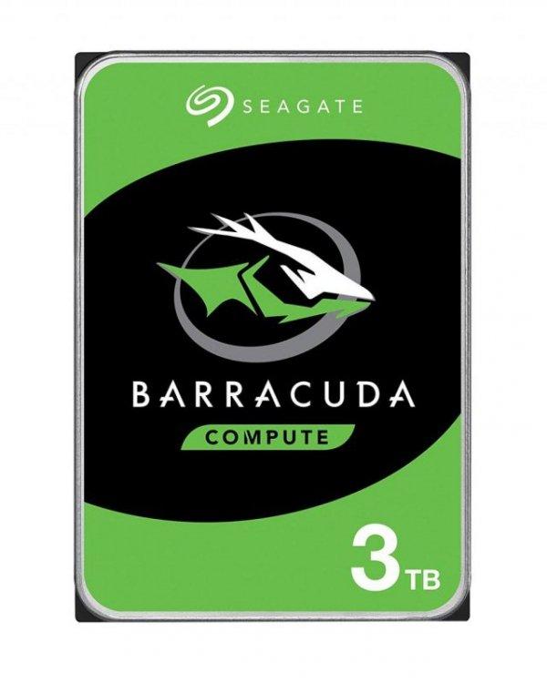 """Dysk HDD Seagate Barracuda ST3000DM007 (3 TB ; 3.5""""; 256 MB; 5400 obr/min)"""