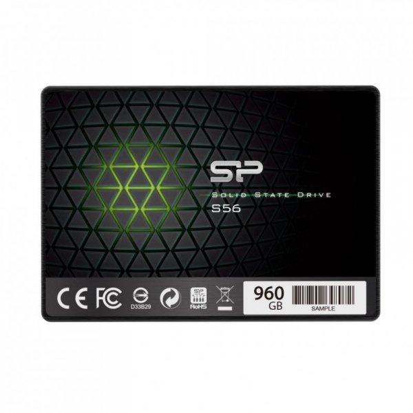 """Silicon Power Slim S56 2.5"""" 120 GB Serial ATA III  TLC"""