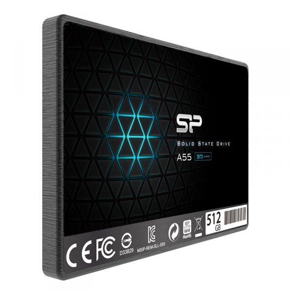 "Silicon Power Ace A55 2.5"" 512 GB Serial ATA III 3D  TLC"