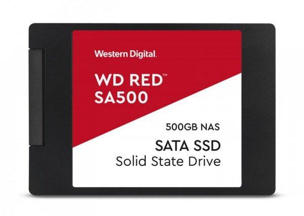 """Dysk SSD WD Red WDS500G1R0A (500 GB ; 2.5""""; SATA III)"""