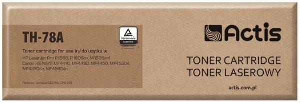 Toner ACTIS TH-78A (zamiennik HP 78A CE278A, Canon CRG-728; Standard; 2100 stron; czarny)