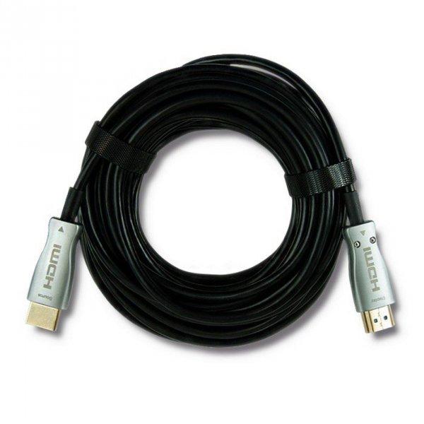 Qoltec 50473 Kabel HDMI v.2.0 A męski | A męski | AOC | 10m