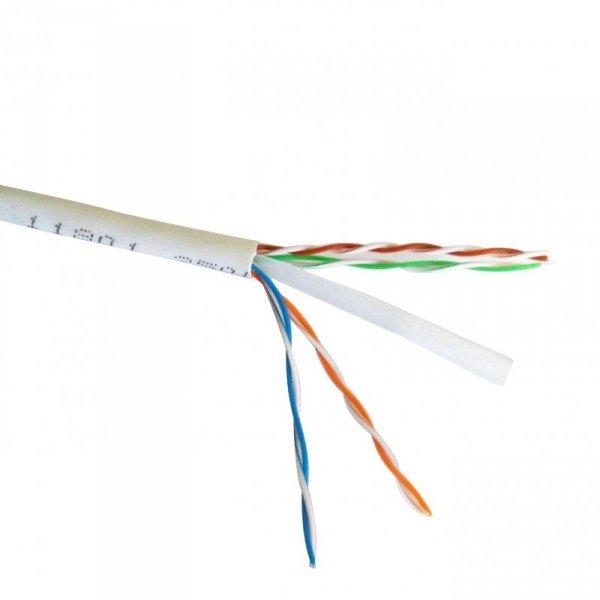 Patchcord GEMBIRD PP6U-2M (RJ45 - RJ45 ; 2m; UTP; kat. 6; kolor szary)