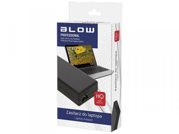 Zasilacz BLOW 4184# do notebooka Asus, Toshiba (19 V; 4,74 A; 90W; 5.5 mm x 2.5 mm)
