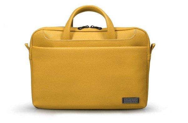 """Torba na laptopa PORT DESIGNS Zurich 110310 ( Top Load; 13/14""""; kolor żółty)"""