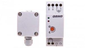 Czujnik zmierzchowy na szynę DIN z zewnętrzną sondą w puszce 3000W 2-100lx IP65/IP20 OR-CR-231