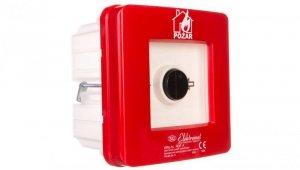 Ręczny ostrzegacz pożarowy NC-NO IP65 WPp-1s ROP A 921550