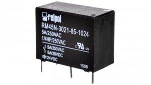 Przekaźniki miniaturowy 1Z 5A 24V DC PCB RM45N-3021-85-1024 2614955