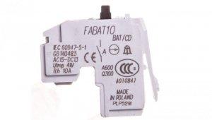 Styk alarmowy 1Z wyzwolenia wyzwalacza nadprądowego /do wyłączników FD, FE, FG/ FABAT10 430818